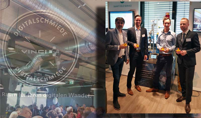 """Digitalschmiede"" – Opening – Vinci Energies digital lab!"