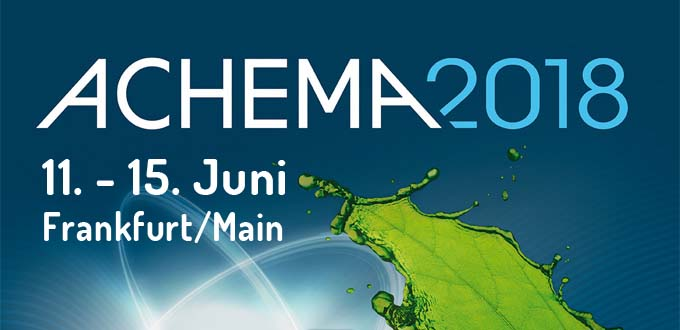 ACHEMA 2018 – World Forum and Leading International Trade Fair for Process Industry