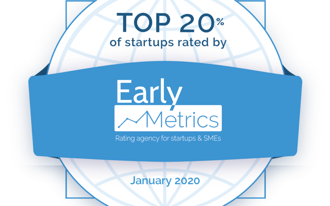 Augmensys is among the top 20% of 3000 evaluated start-ups!