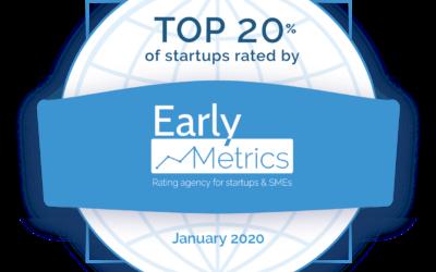 Augmensys zählt zu den Top 20% von 3000 bewerteten Start-Ups!